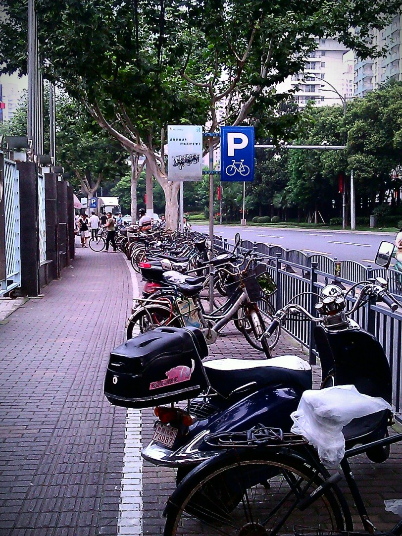 Bike Parking.